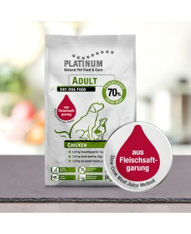 15 kg Platinum Kylling Adult Hundefoder Platinum - 15