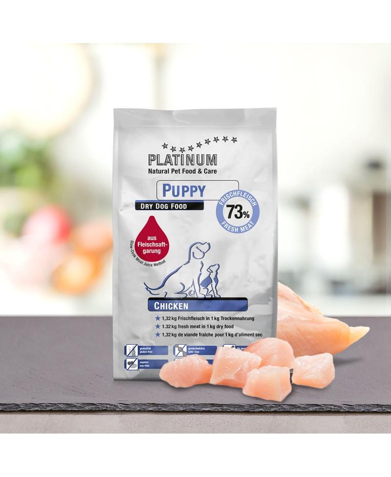 1,5 kg Platinum Puppy Kylling Hvalpefoder Platinum - 1